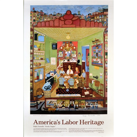 americas labor heritage by ralph fasanella