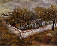 cimetière juif dans le midi by isaac lichtenstein
