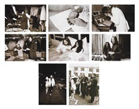 john lennon and yoko ono (62 works) by henri pessar