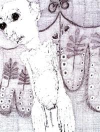 je vous tisse un linceul ( i weave a shroud) by rosemarie kôczy