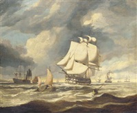 the fleet an anchor by miles edmund cotman