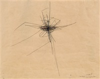 (zentrale) kruzifikation by arnulf rainer