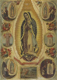 virgin of guadalupe by miguel correa