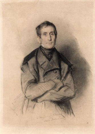 portrait de françois delessert by paul hippolyte delaroche