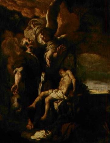 il sacrificio di isacco by johann liss