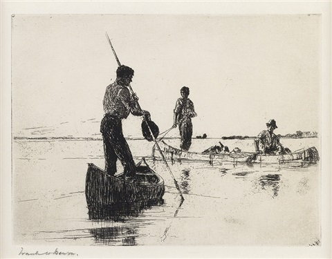 two canoes by frank weston benson
