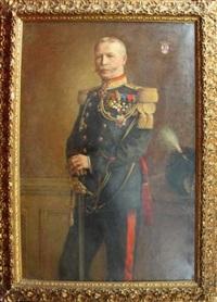 portrait du baron j.m. albert keucher de wallet by leon corthals