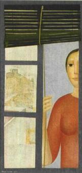 mujer en la ventana by alberto de la torre cavero