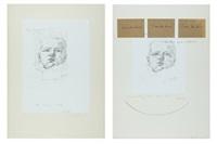 autoritratto attraverso mio padre (2 works) by michelangelo pistoletto