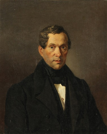 portrait of a man count matvei vielgorsky by karl pavlovich bryullov
