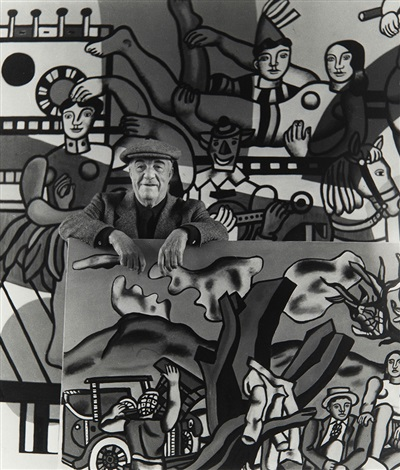 fernand leger in his atelier gif sur yvette by robert doisneau