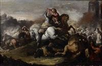 choc de cavalerie by antonio calza