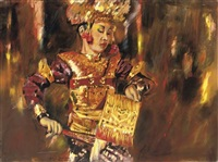balinese dancer by louis nagelkerke