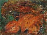 homard et faisane by louis icart