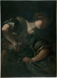allegorie des fischzuges by simone pignoni