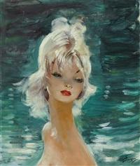 portrait de femme by jean-gabriel domergue