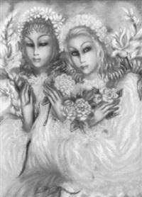 jeunes filles aux fleurs by hélène marie marguerite perdriat