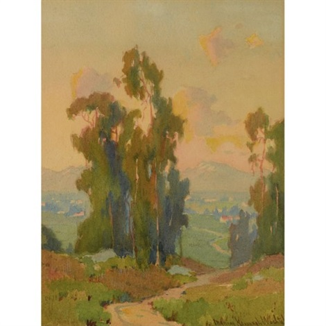 path in the hills california by marion kavanaugh wachtel