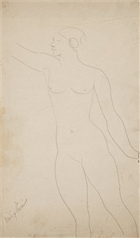 nude modell by amedeo modigliani
