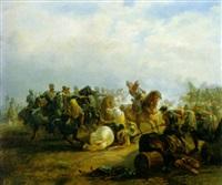 de veldslag bij heiligerlee by ferdinand ernst lintz