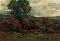 landscape by charles partridge adams