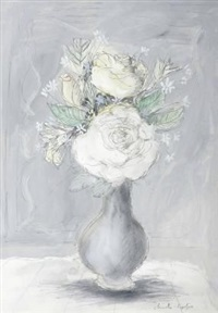 still life with roses by christo coetzee