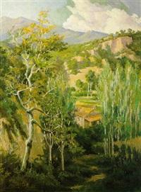 paisaje de montaña by juan baixas-garrate