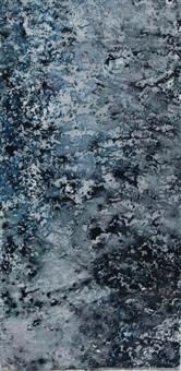 bleu-noir by mark tobey