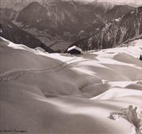 ski à verbier by kinette hurni-bourgeois