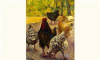 les poules by marcel couchaux