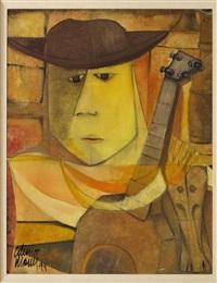 guitarra y toro by arturo morín