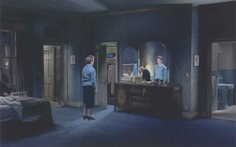 untitled blind reflection from beneath the roses by gregory crewdson