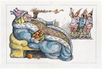 old king cole by arnold lobel
