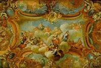 allegorie auf die glückliche regierung einer provinz der österreichischen monarchie by bartholomäus altomonte