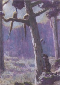 the leopard by john charles dollman