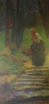 prayer in the woods by karel rasek