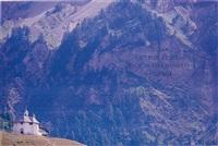 swiss mountain by wim delvoye