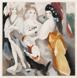 artwork by marie laurencin