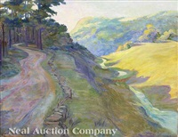 smoky mountain pass and river road by anne wells munger