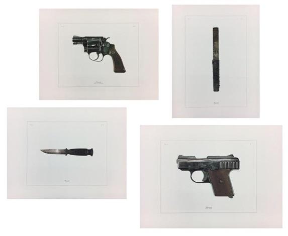 homicide (knife); homicide (steel pipe); homicide (25 cal.  sc 1 st  Artnet & Homicide Knife Homicide Steel Pipe Homicide 25 cal. Raven Homicide ...