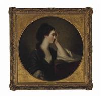 portrait of miss elizabeth gunning by angelika kauffmann