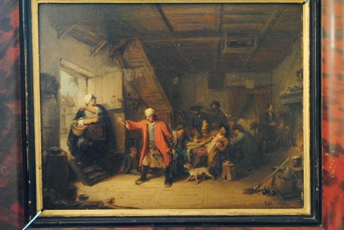 scène dauberge by jean baptiste madou