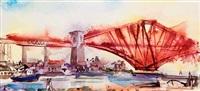 the forth bridge 1998 by david kennard