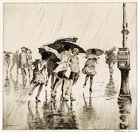 wet saturday by martin lewis