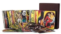 i tarocchi (portfolio w/78 works) by renato guttuso