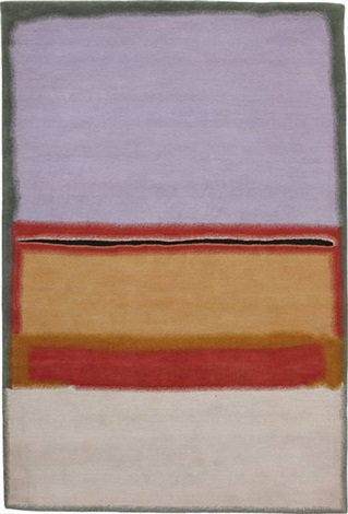 orange over violet by mark rothko