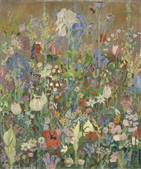 summer flowers by sir cedric lockwood morris