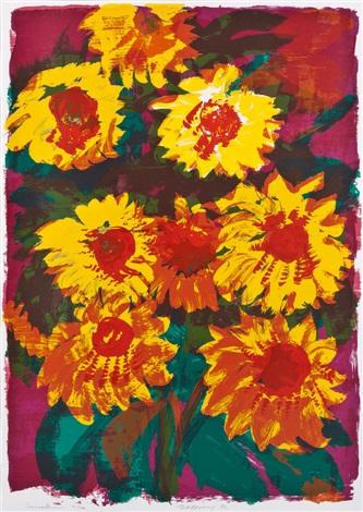 sonnenblumen by rainer fetting