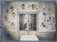 peintures murales dans des salles d'hôpitaux parisiens (album w/50 works) by lucien wormser
