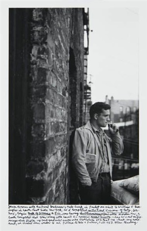 heroic portrait of jack kerouac new york by allen ginsberg